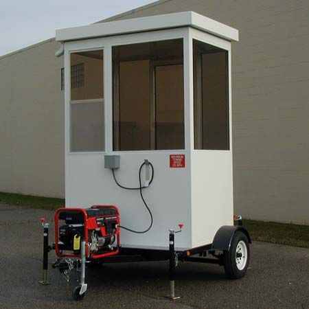Guard House Trailer Mounted