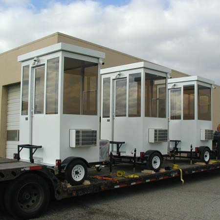 Guardhouse Trailer Mounted Model #46T ready to ship!