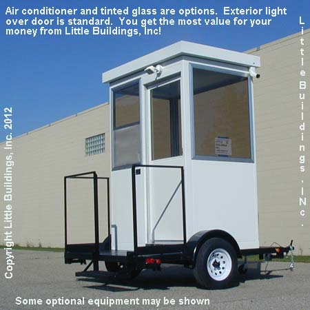 Guard House Trailer Mounted with Generator