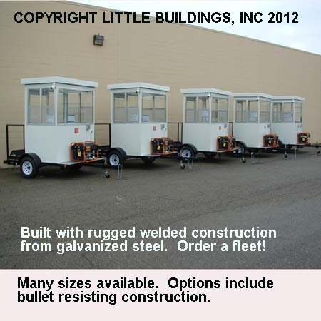 Trailer Mounted Guard Houses