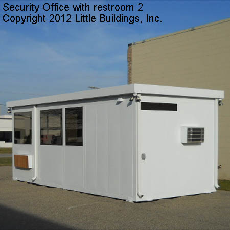 Guard House with Restroom