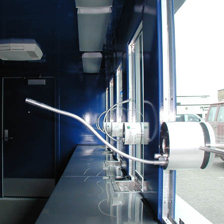 Ticket Booth Electronic Speaker Tube