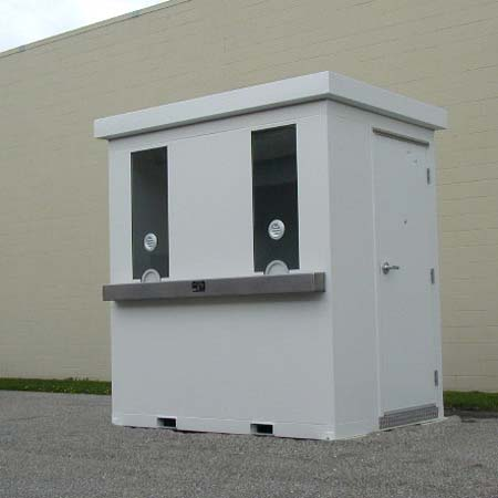 Two Window ticket booth that can be relocated to different venues as needed!