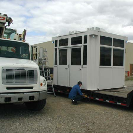 Guard House from Little Building ship by truck assembled