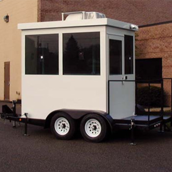 Guard House Trailer Mounted and Bullet Resisting UL Level IV