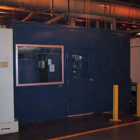 Prefabricated Control Booth in factory