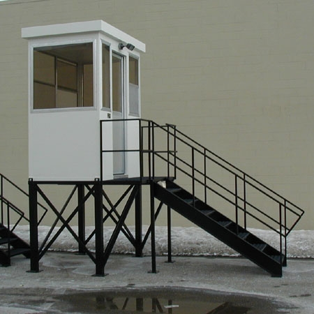 Guardhouse with stand