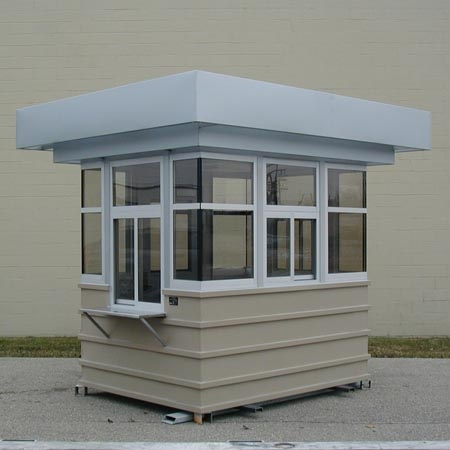 Ribbed exterior and double canopy make this a great looking unit!