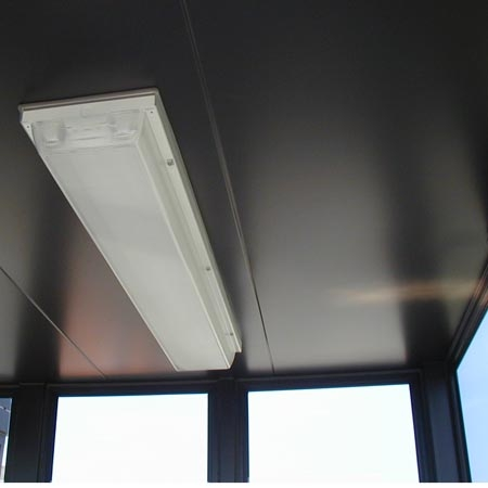 Vandal proof lights feature special screws and polycarbonate lensess.  Switch is controlled through a photocell.  Ballasts are low temperature for safety in all temperatures!