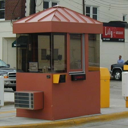 Parking Booth Panorama