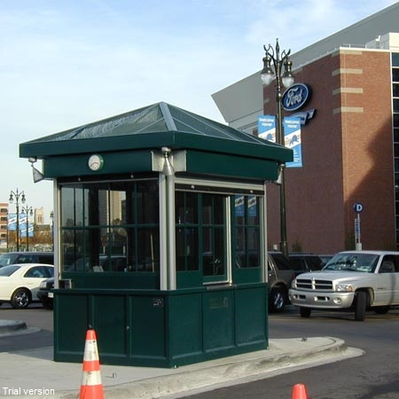 Parking Booth Colonial
