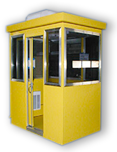 yellow guard house