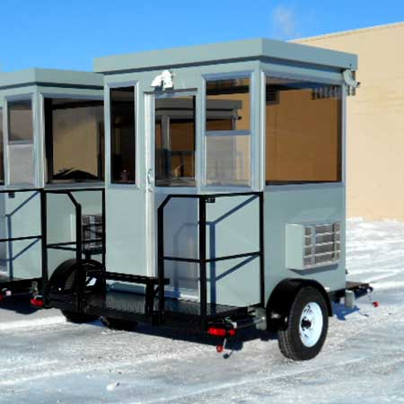 trailer mounted booth